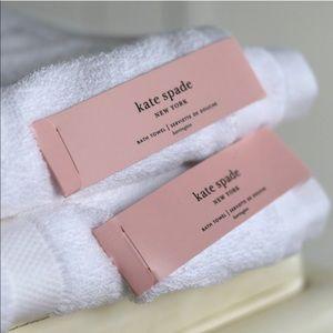 NWT Kate Spade Towel Set